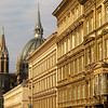 In Old Vienna - 19th Century facades line the streets of Austria's capital, a city that has seen two thousand years of turbulent history.