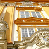 "Entering the Abbey of Melk - The Abbey of Melk, where Umberto Eco's novel ""The Name of the Rose"" begins and ends, is one of the most extravagant complexes of Baroque buildings in the world. Once they pass through this entrance, it offers visitors one surprise after another."