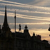 Zagreb Dawn - Zagreb has been the capital of Croatia since 1991, when the country became independent. It throbs with energy, beginning at dawn, as jets bearing visitors from all over the world streak the early morning sky with their contrails.