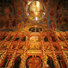 Kostroma's icons and frescoes - A spectacular array of medieval icons and frescoes adorn the gilded walls and vaulted ceilings of Kostroma's Trinity Cathedral.